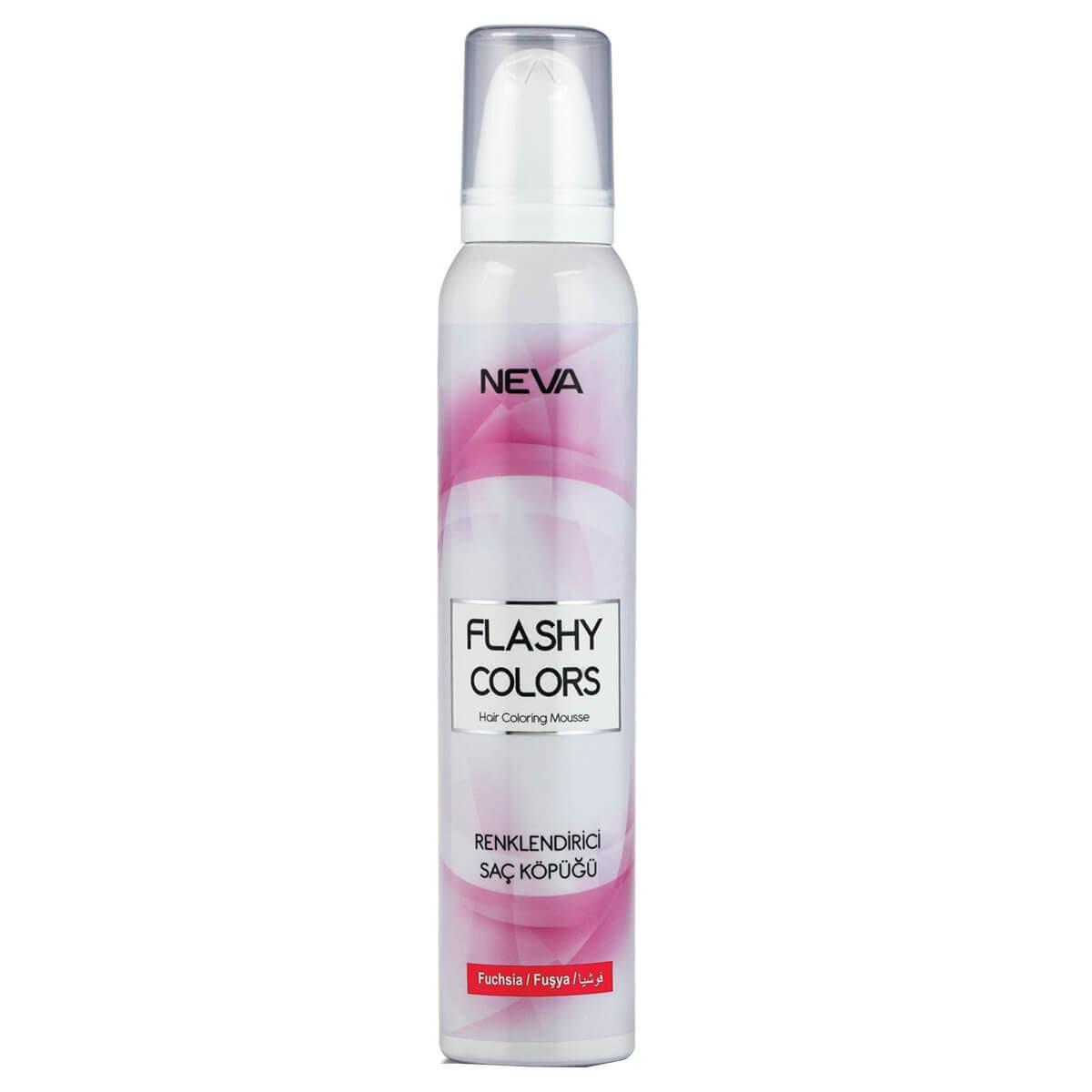 Flashy Colors Renklendirici Saç Köpüğü Fuşya