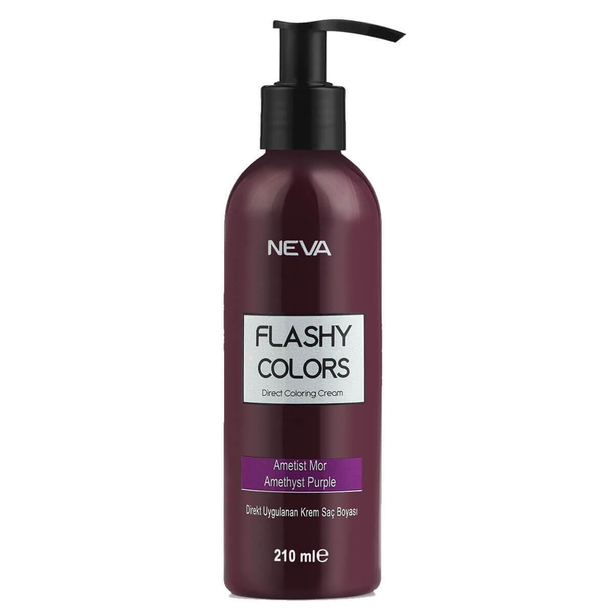 Flashy Colors Yarı Kalıcı Saç Boyası Ametist Mor
