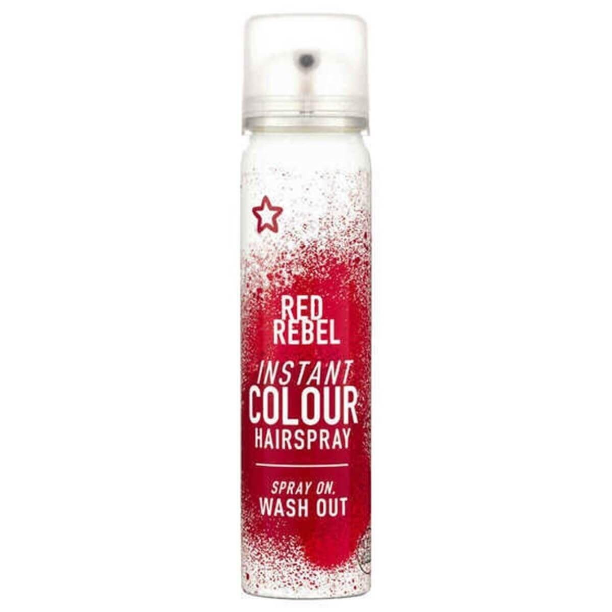Renkli Sprey Saç Boyası Kırmızı 75 ml