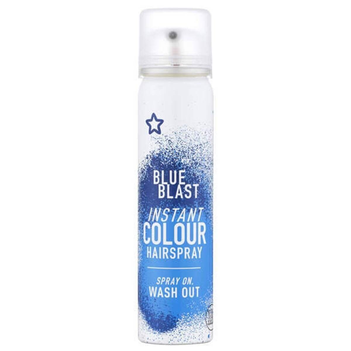 Renkli Sprey Saç Boyası Mavi 75 ml