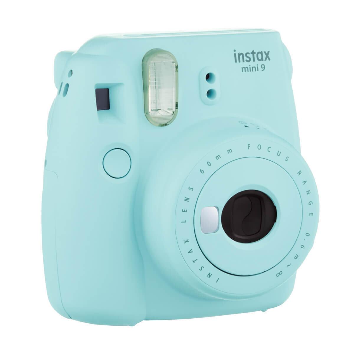 Instax Mini 9 Fotoğraf Makinesi Buz Mavi