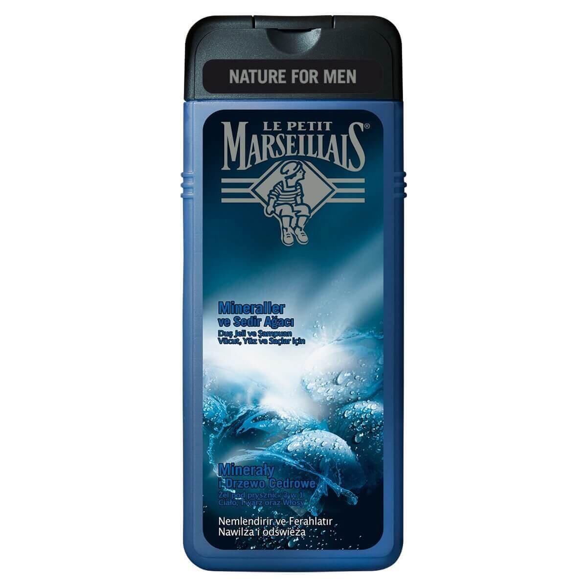 Men Sedir Ağacı&Mineral Duş Jeli Şampuan 400 ml