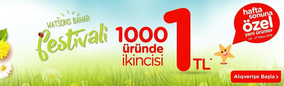 1000 Üründe İkincisi 1 TL