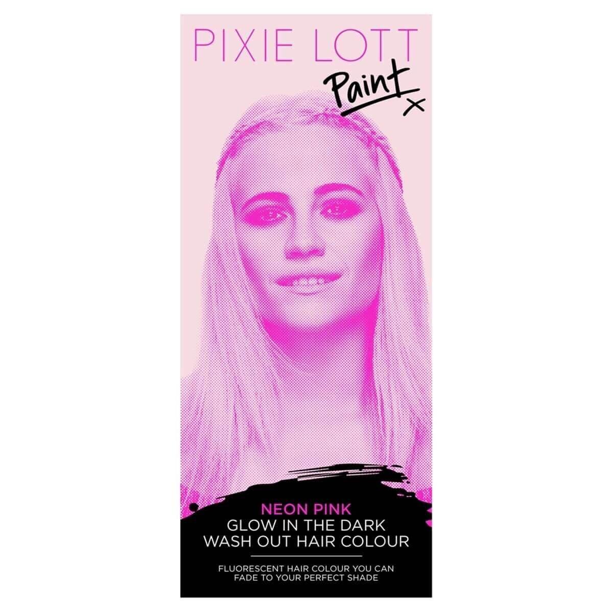 Geçici Saç Boyası Neon Pink