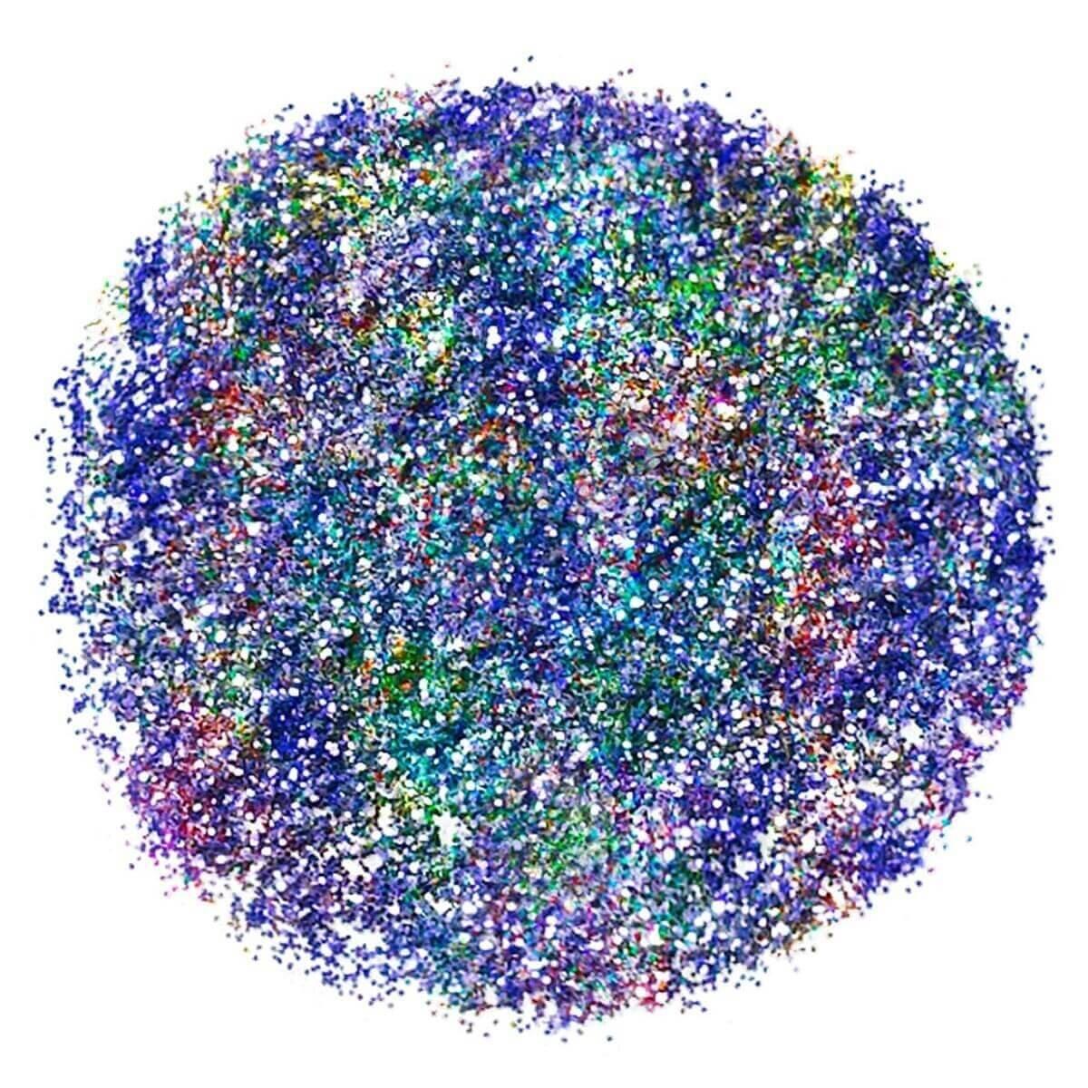Face & Body Glitter Violet