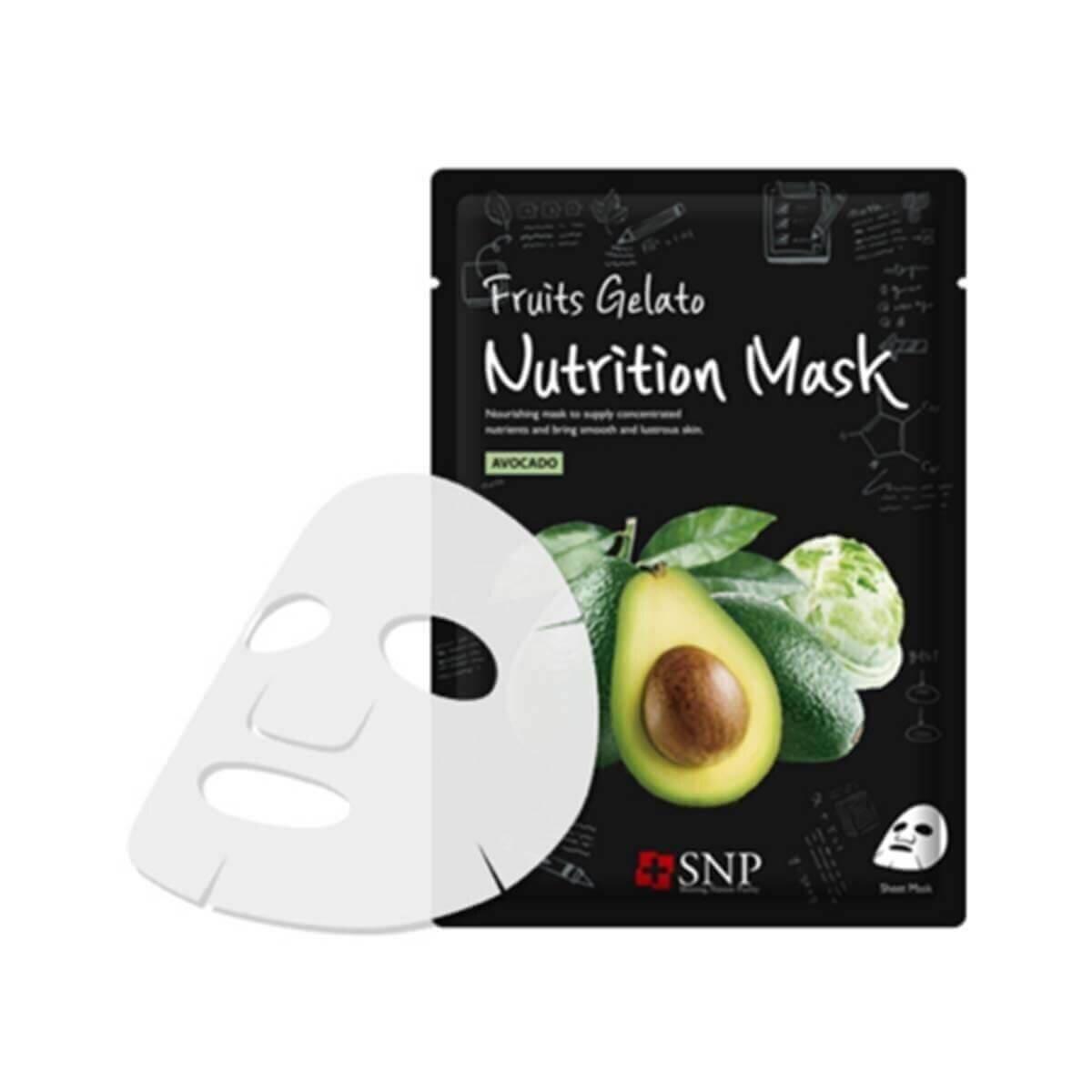Fruits Gelato Nutrition Maske 33 ml