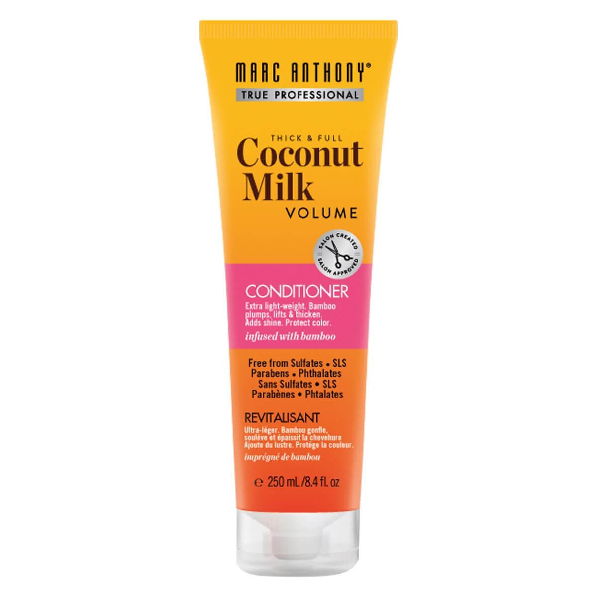 İnce Telli Saçlar için Dolgunlaştırıcı & Kalınlaştırıcı Coconut Milk Bakım Kremi 250 ml