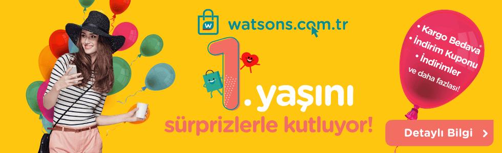 Watsons 1. yas kutlaması