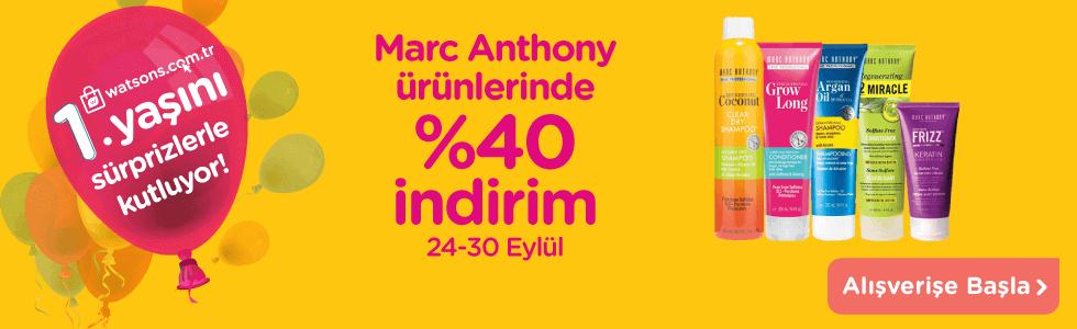 Marc Anthony 24-30 Eylül