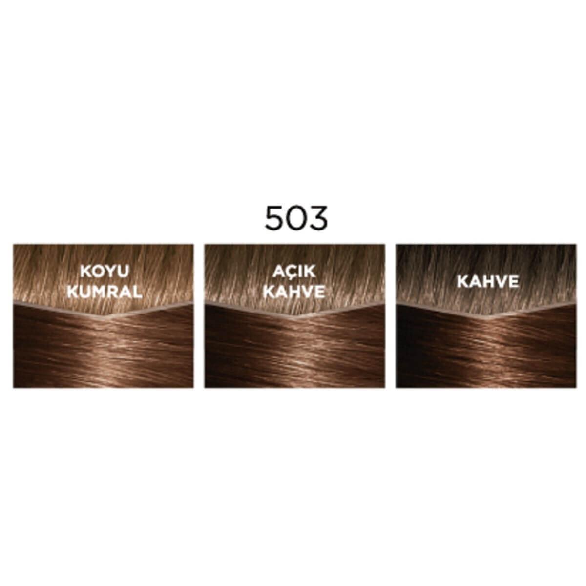 Creme Gloss Saç Boyası Altın Çikolata No. 503