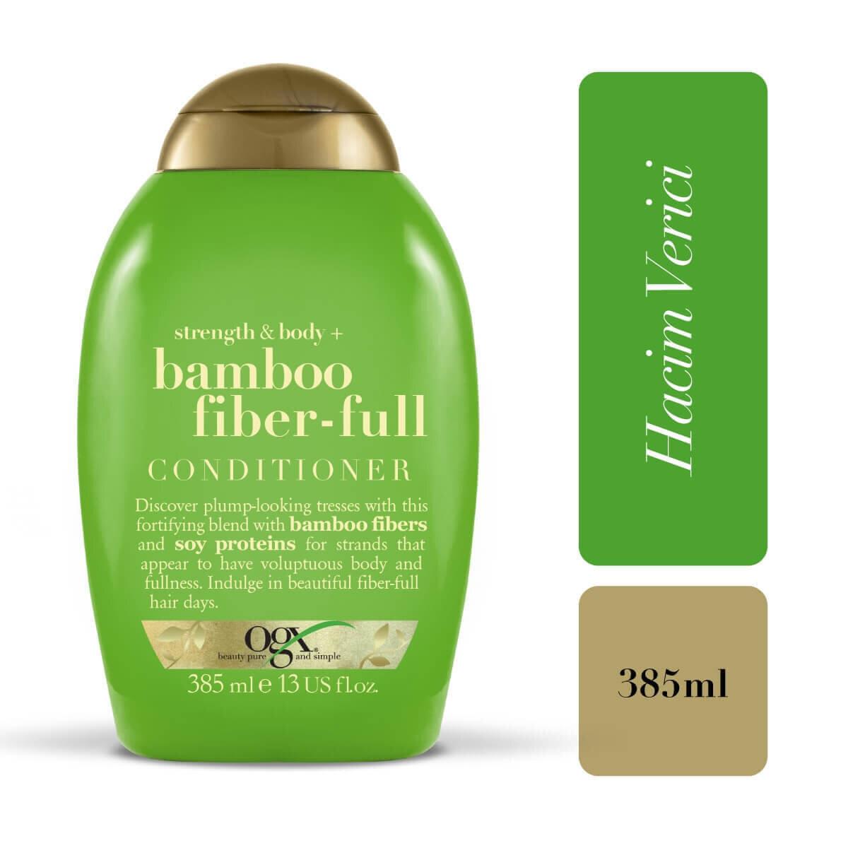 Dolgunlaştırıcı Bamboo Fibers Bakım Krem 385 ml