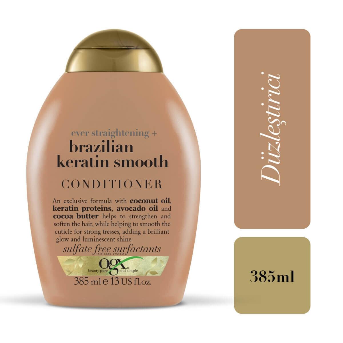 Düzleştirici Brazilian Keratin Smooth Bakım Kremi 385 ml