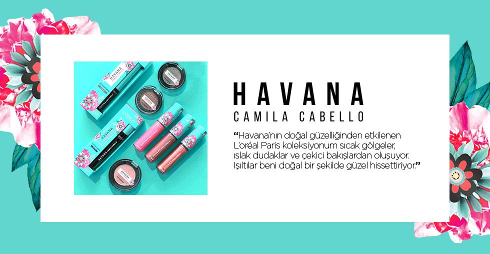 L'Oréal Paris x Camila Cabello Havana Koleksiyonu