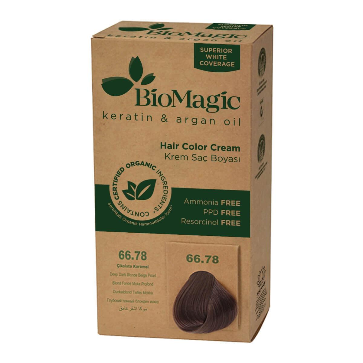 Doğal Saç Boyası Çikolata Karamel No. 66.78