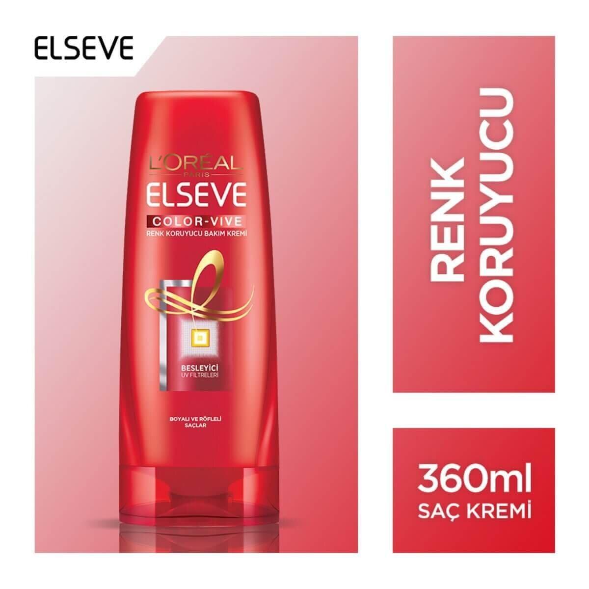 Color Vive Renk Koruyucu Saç Bakım Kremi 360 ml