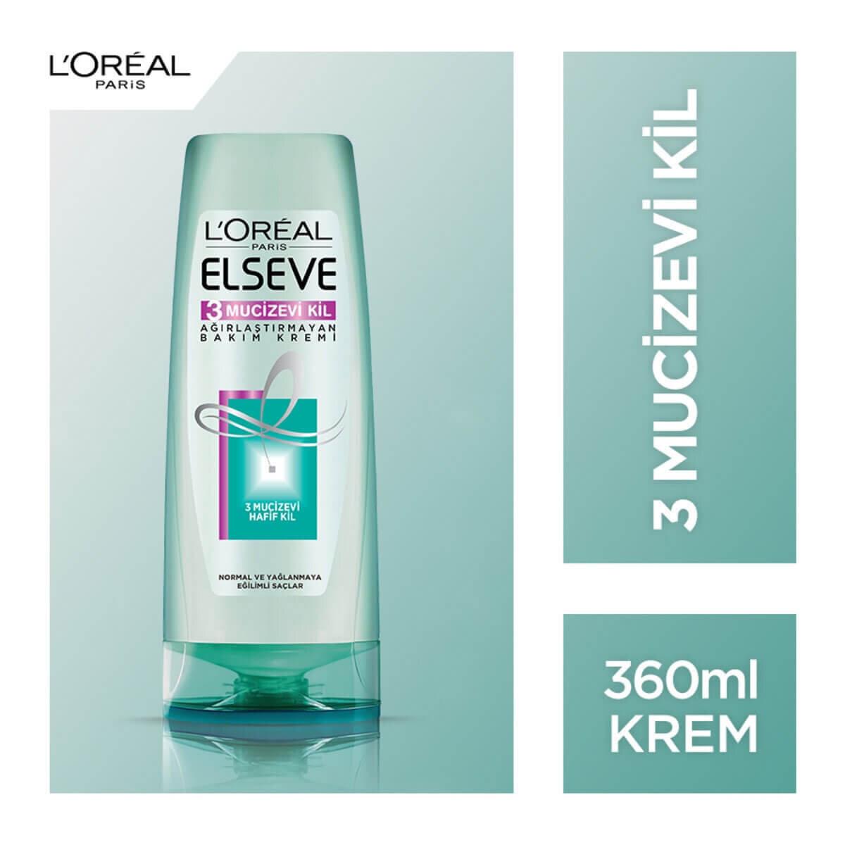 Mucizevi Kil Saç Kremi 360 ml