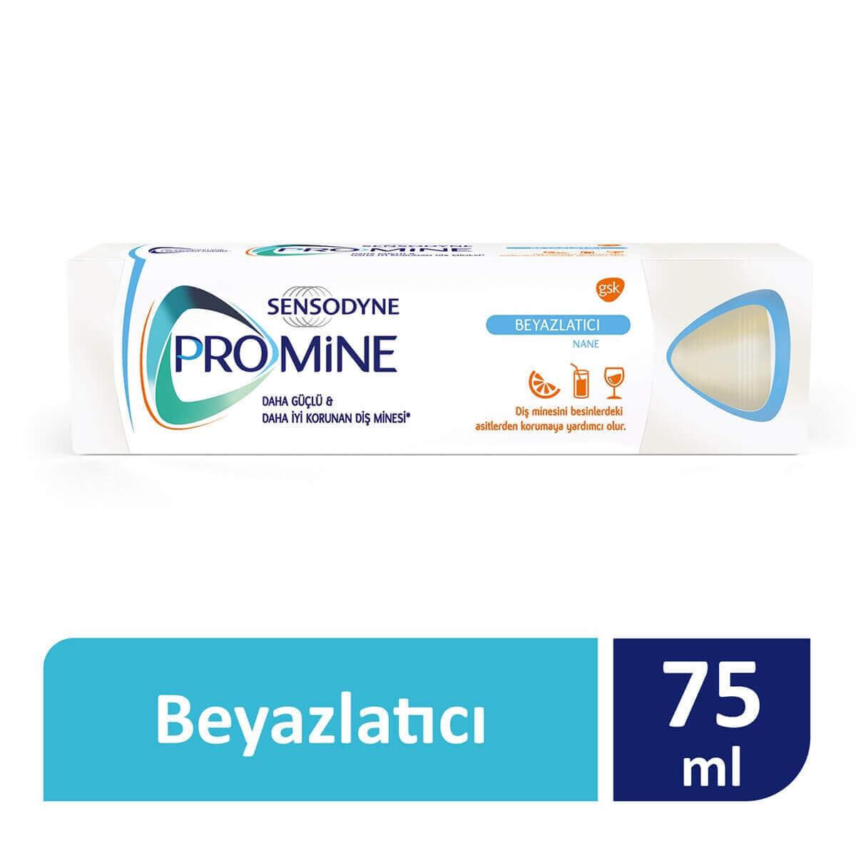 Sensodyne Promine Beyazlatıcı Diş Macunu 75 ml