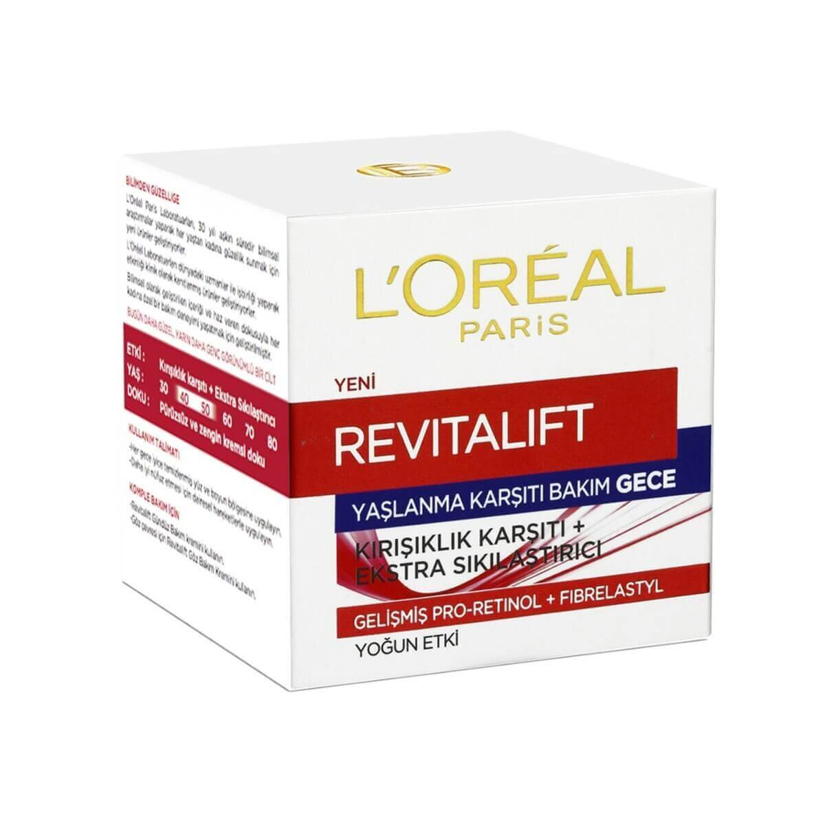 Revitalift Gece 50ml