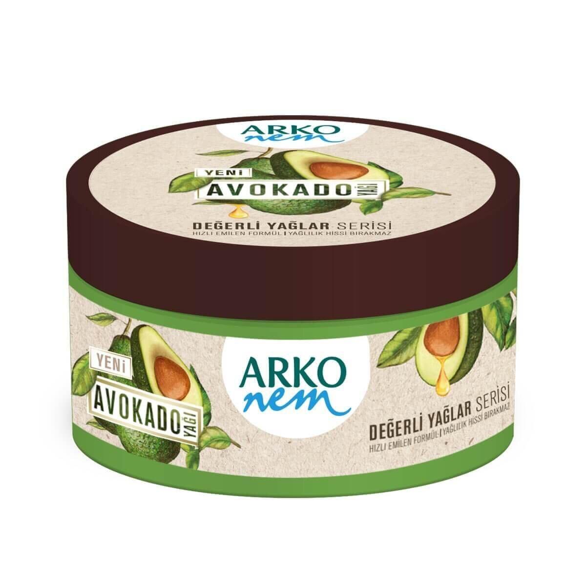Değerli Yağlar Serisi Avokado Krem 250 ml