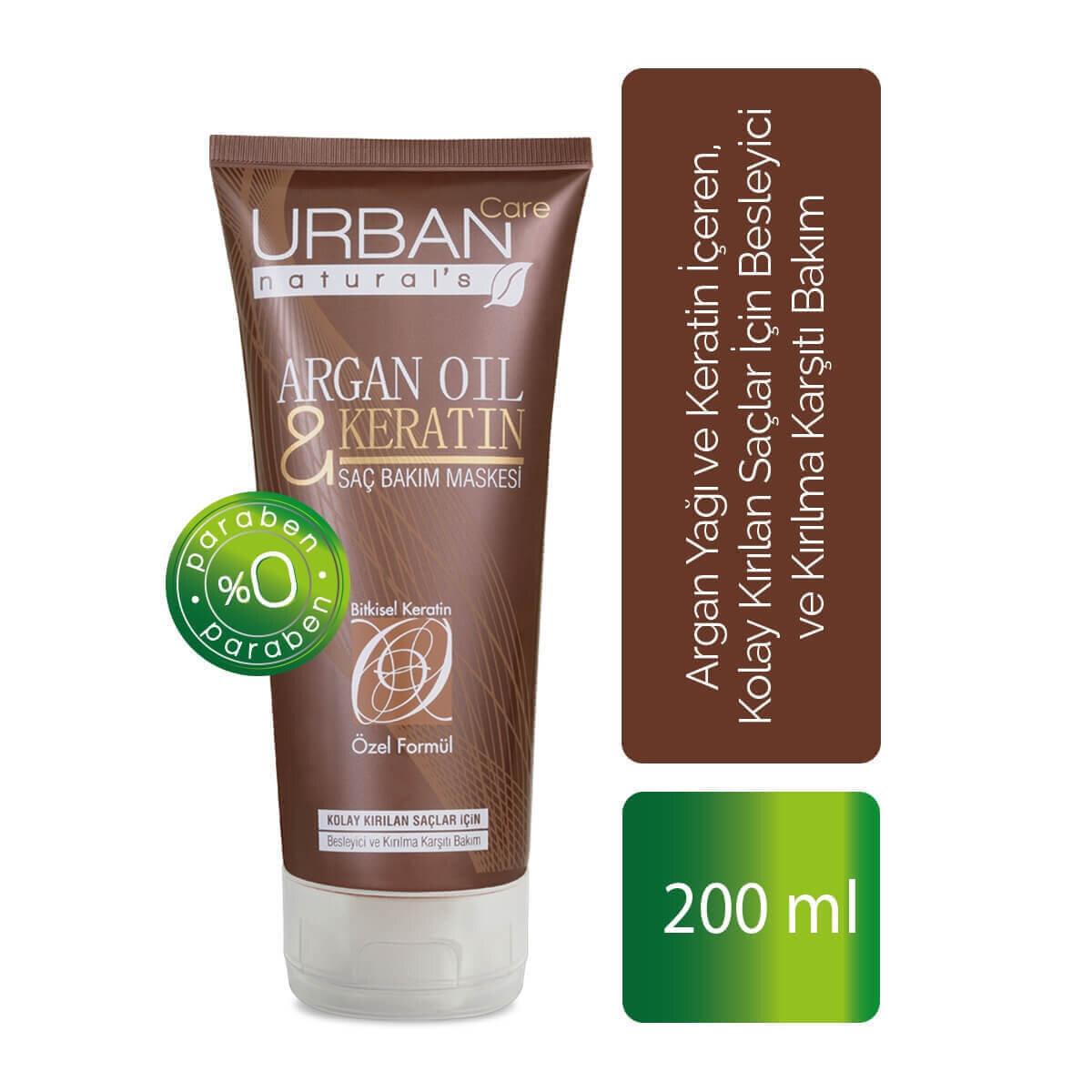 Argan Oil Saç Maskesi 200ml