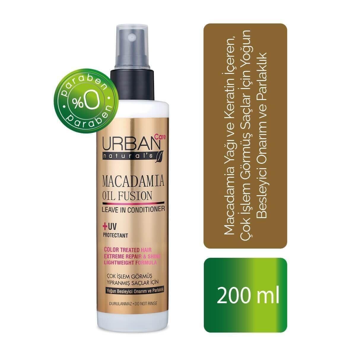 Macadamia Oil Fusion Sıvı Saç Kremi 200ml