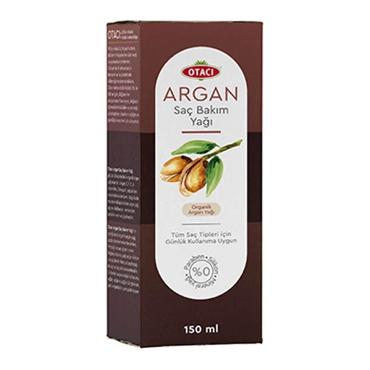 Argan Saç Bakım Yağı 150 ml