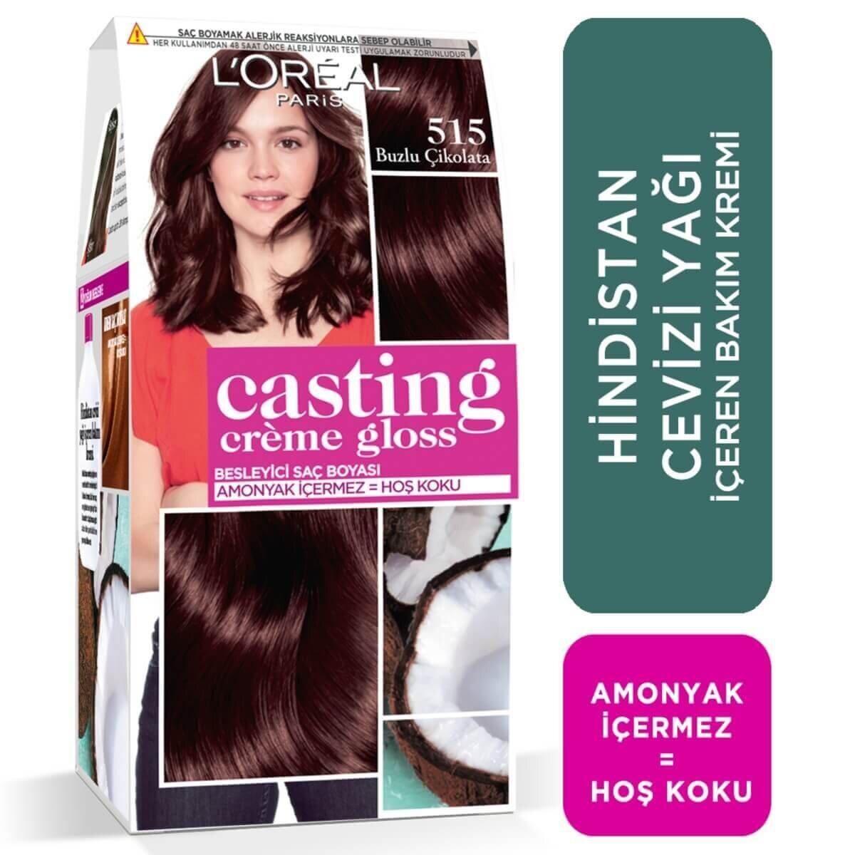Creme Gloss Saç Boyası Buzlu Çikolata No. 515