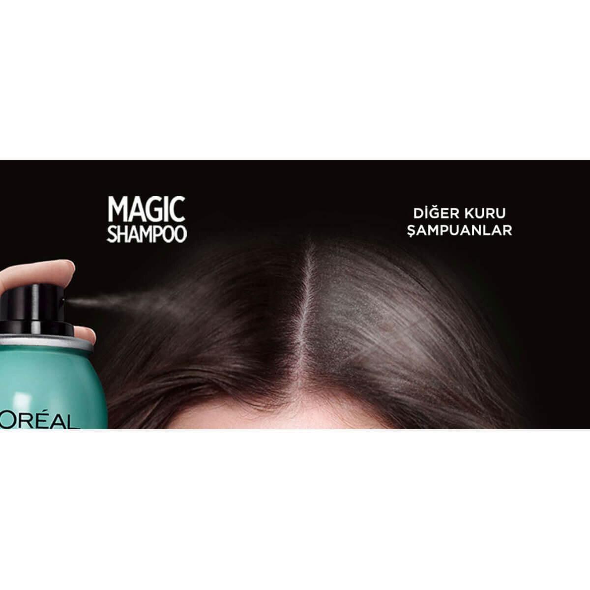 Magic Shampoo Görünmez Kuru Şampuan 200ml -Yağmur Ormanları