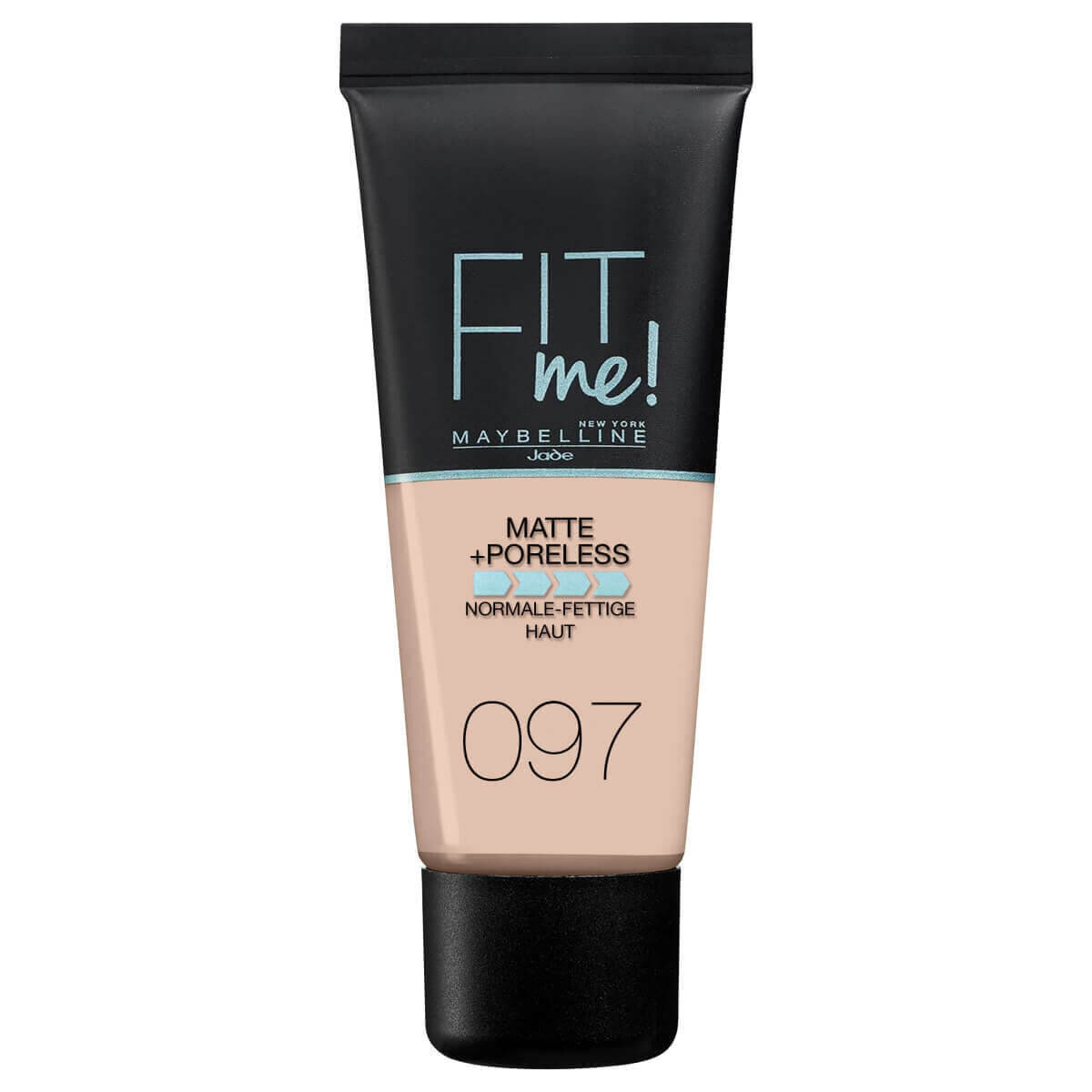 Fit Me Matte & Poreless Fondöten No: 97 Natural Porcelain