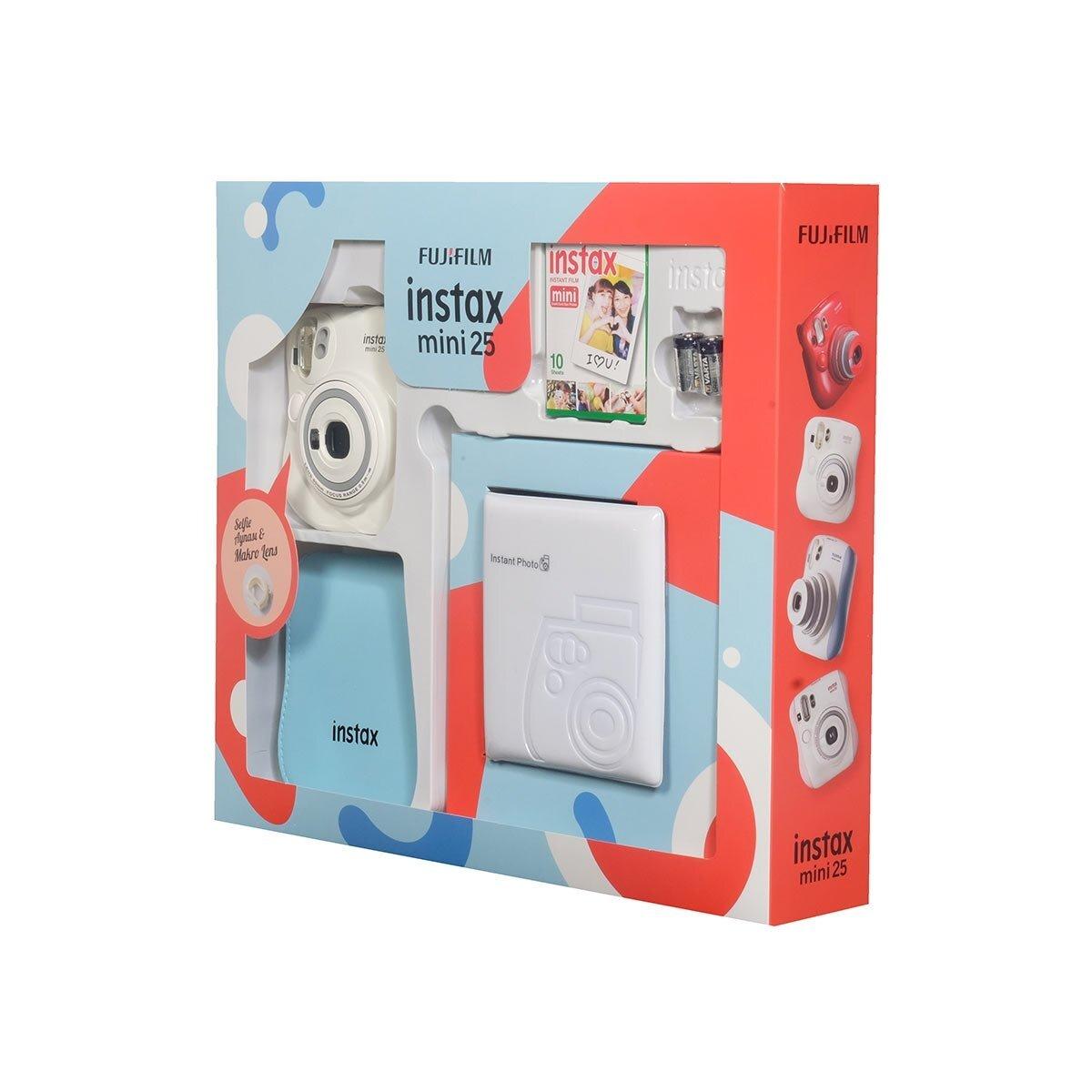 Instax Mini 25 Box Beyaz