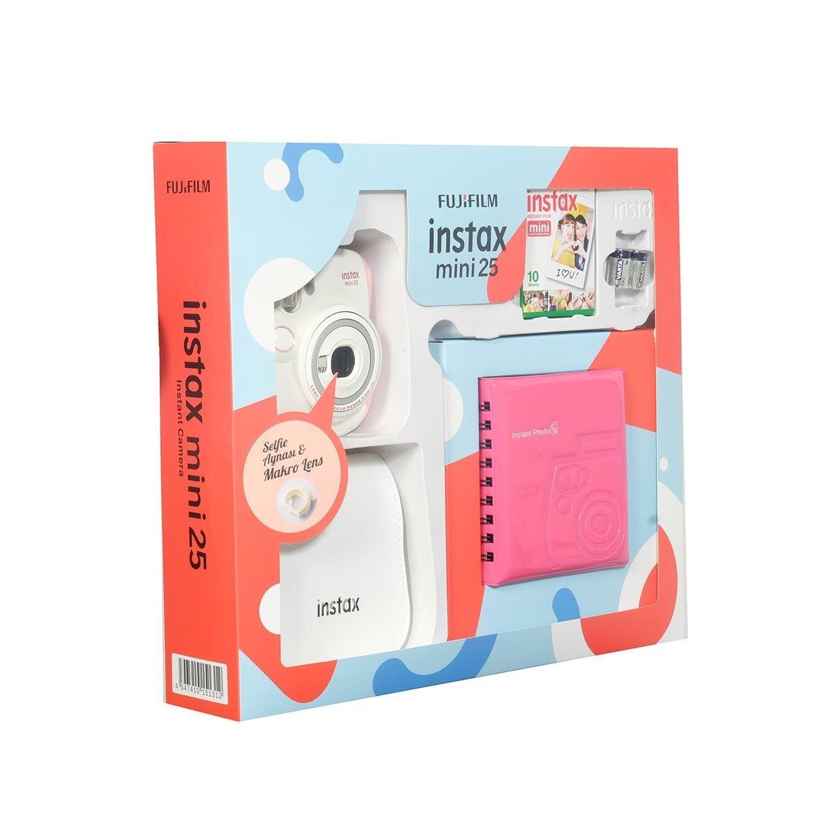 Instax Mini 25 Box Pembe