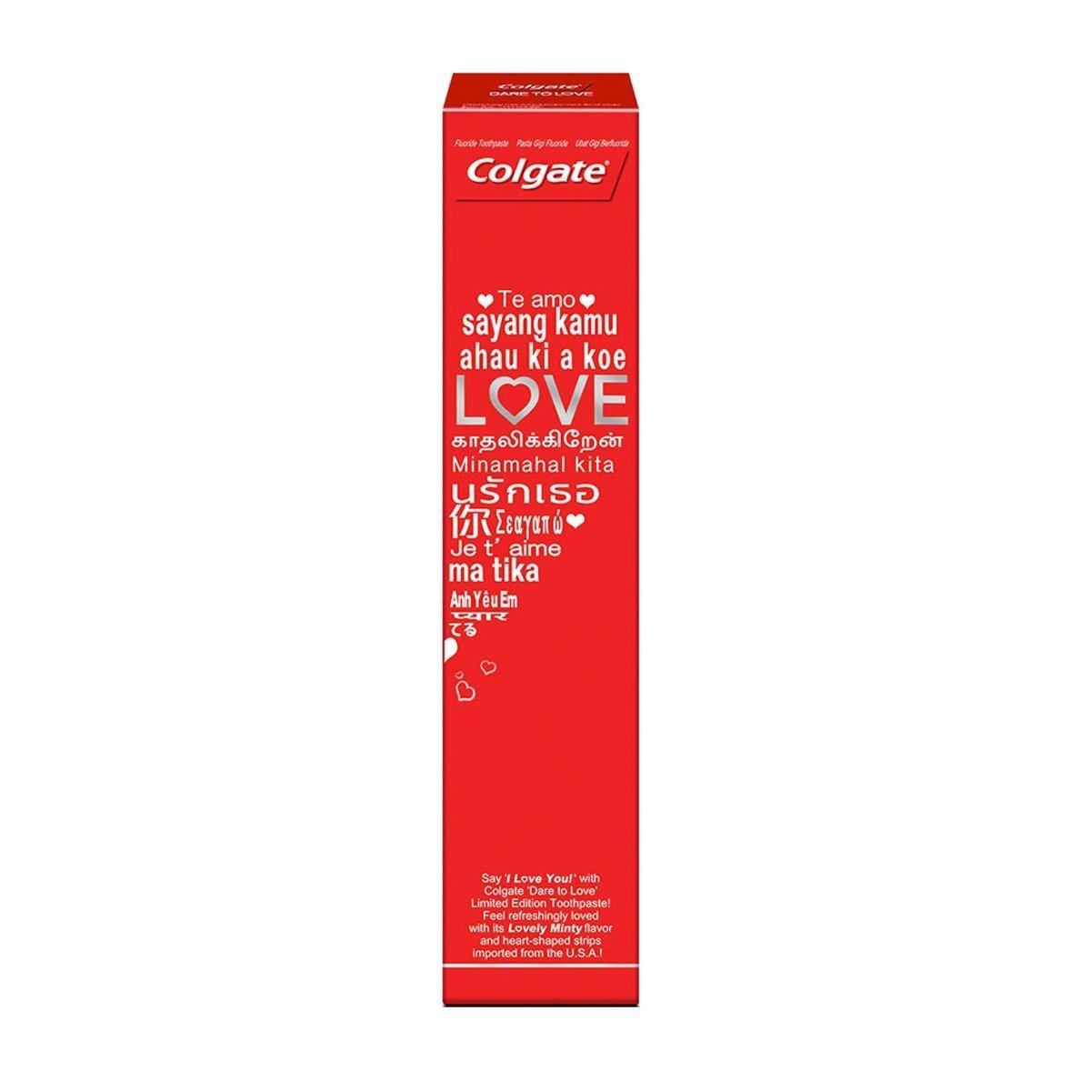 Dare To Love Özel Seri Kalpli Diş Macunu 130 gr