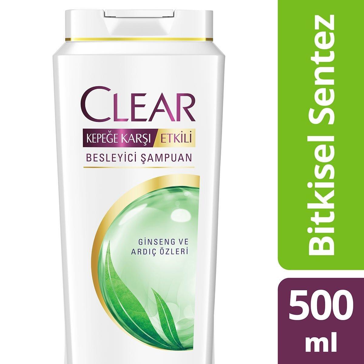 Bitkisel Sentez Kadın Şampuanı 500 ml
