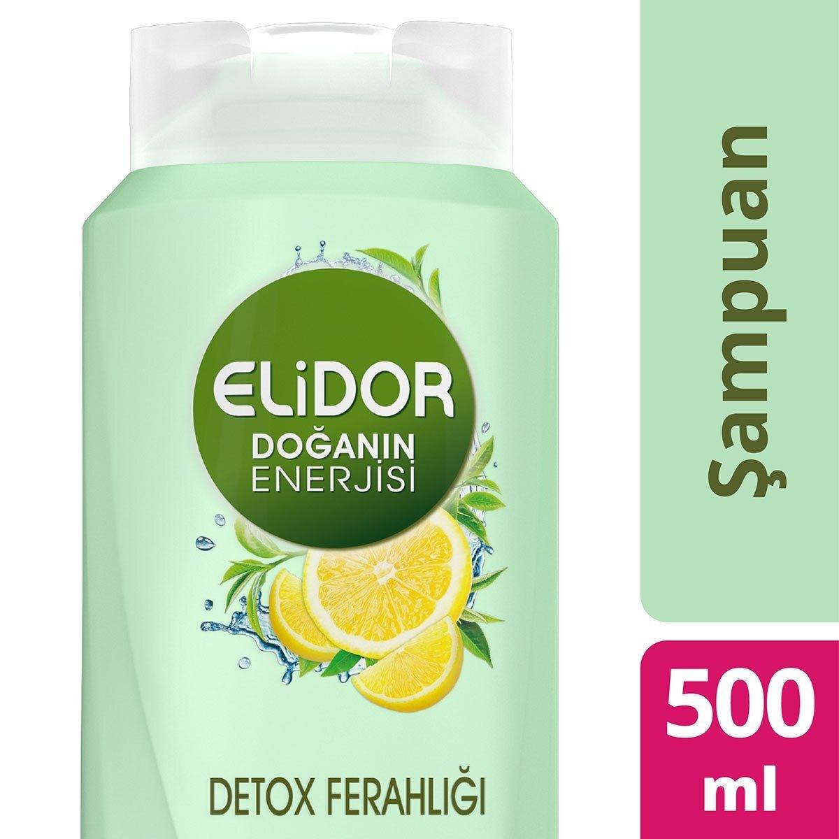 Doğanın Enerjisi Detox Şampuan500ml