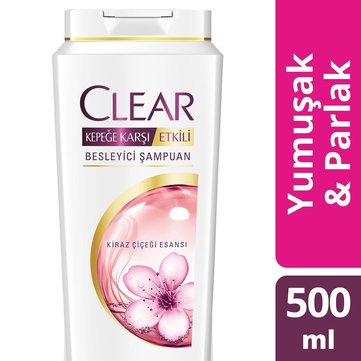 Kiraz Çiçeği Kepeğe Karşı Şampuan 500 ml