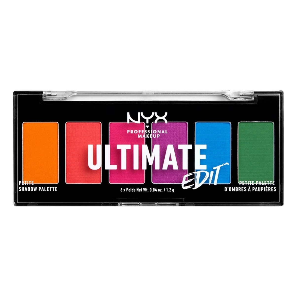 Ultimate Edit Petite Shadow Palette - Brights