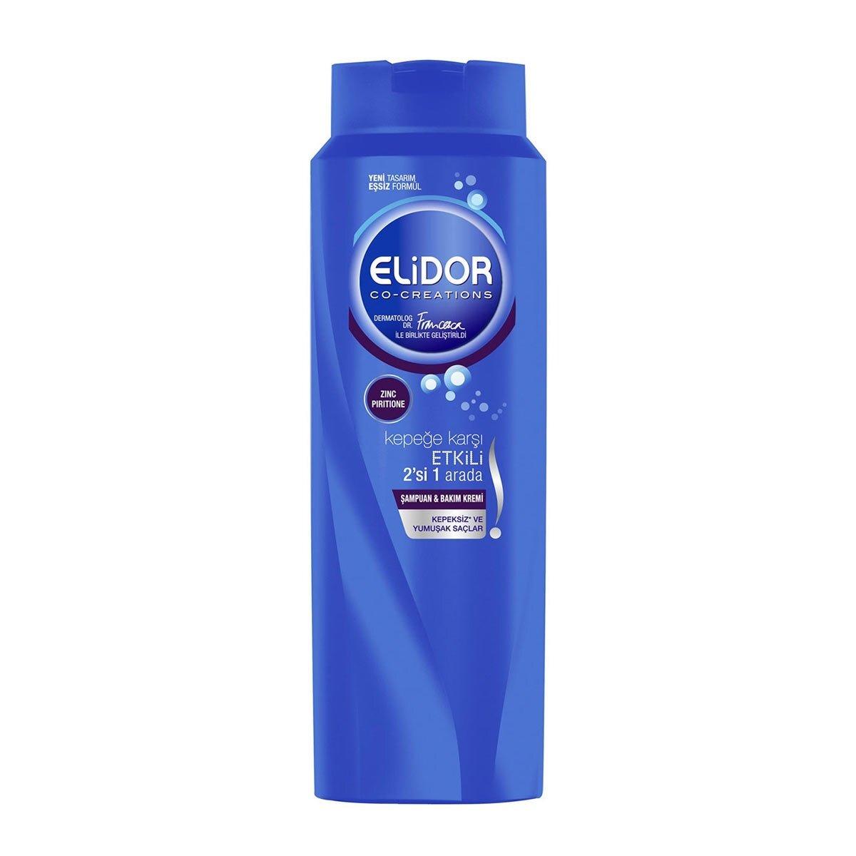 Kepeğe Karşı Etkili 2'si 1 Arada Şampuan 500 ml