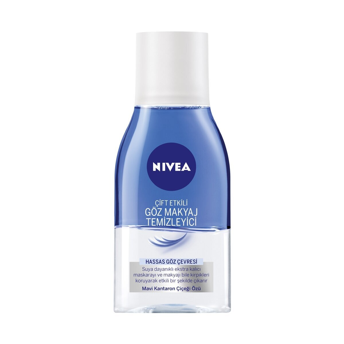 Çift Etkili Göz Makyaj Temizleme Losyonu 125 ml