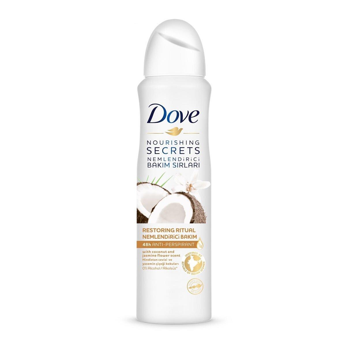 Dove Coconut Kadin Deodorant 150 Ml Watsons