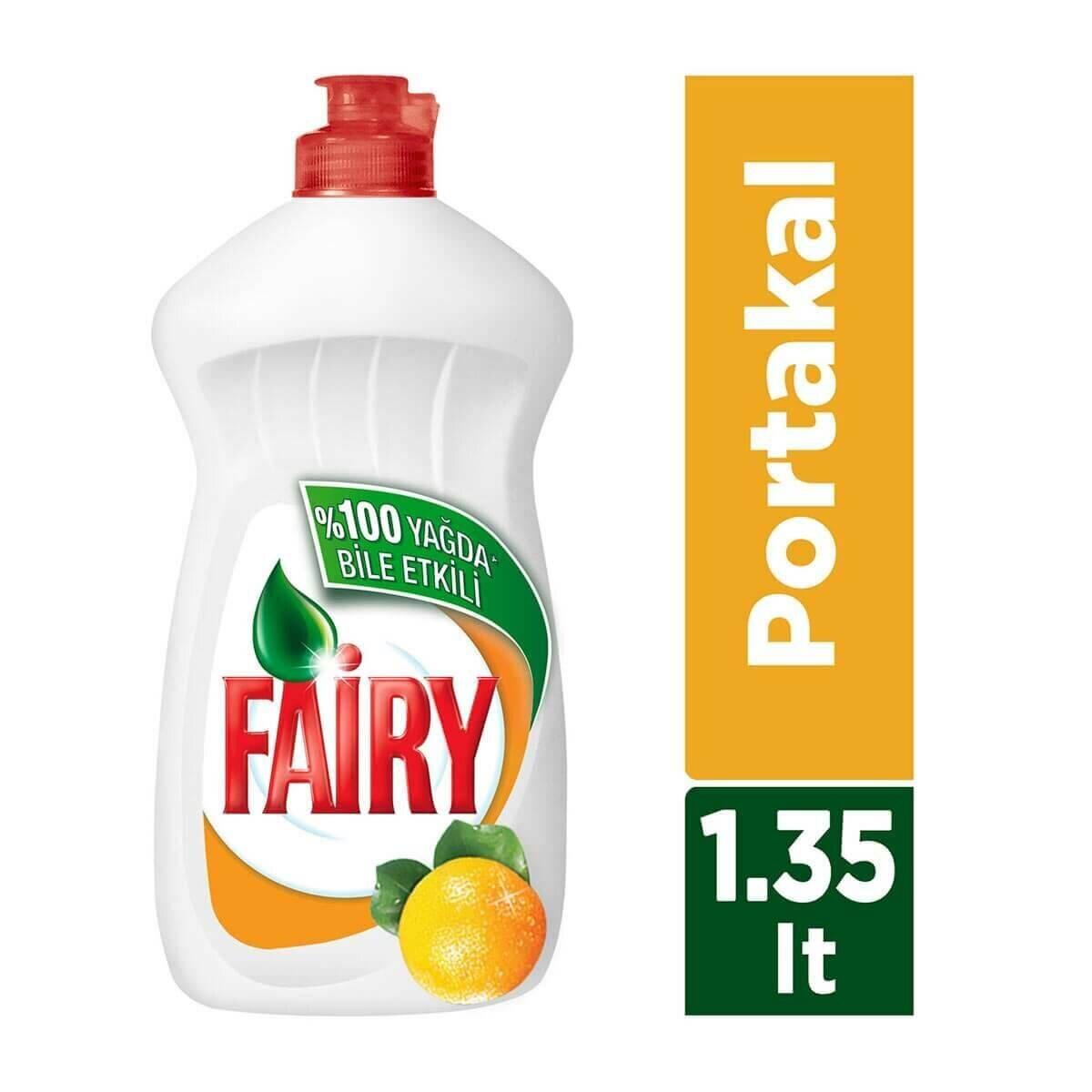 Portakal Sıvı Bulaşık Deterjanı 1350ml