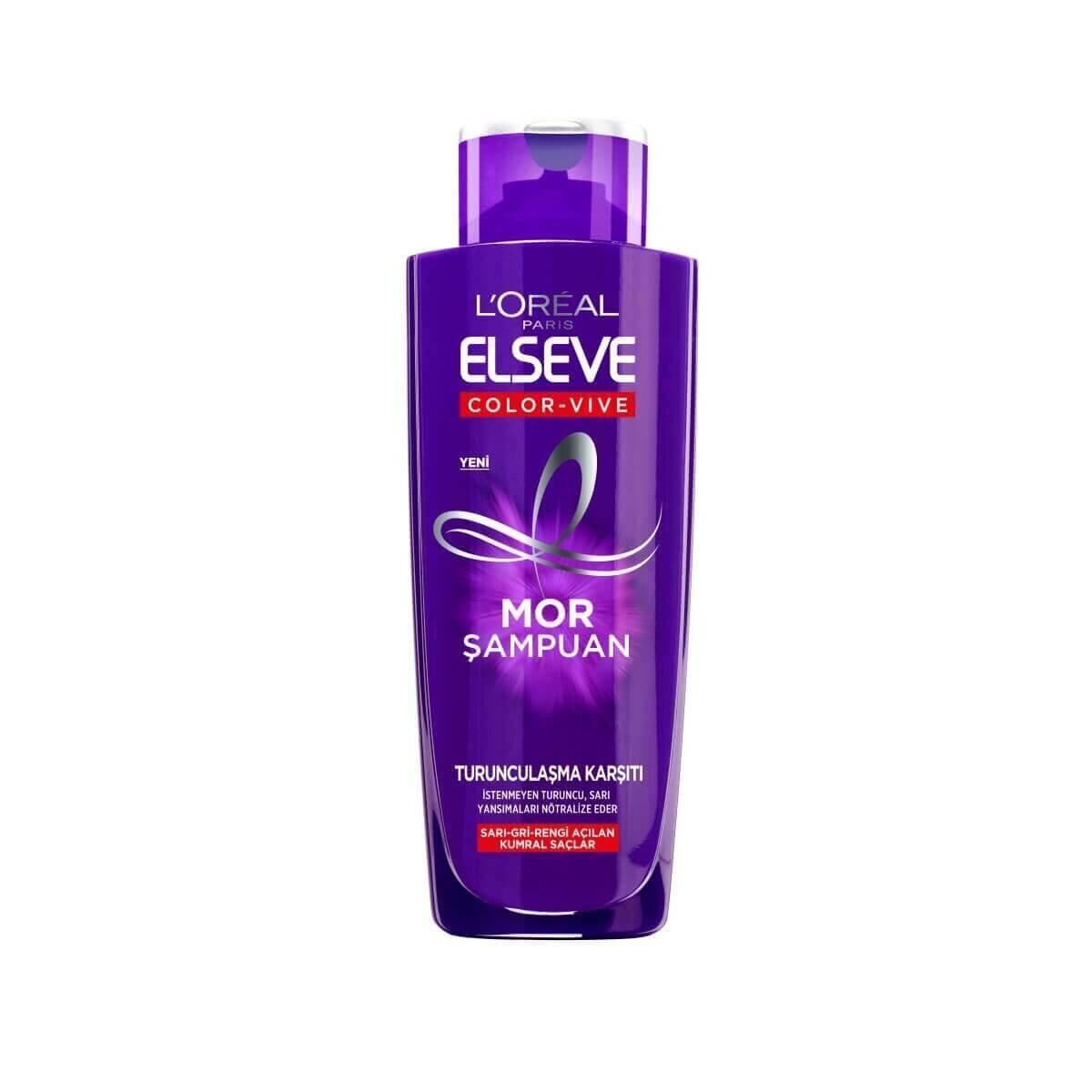 Elseve Turunculaşma Karşıtı Mor Şampuan 200ml