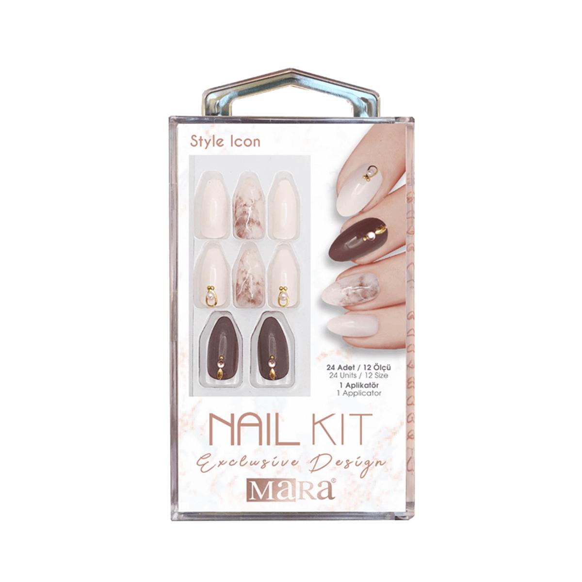Nail Kit Takma Tırnak Style icon