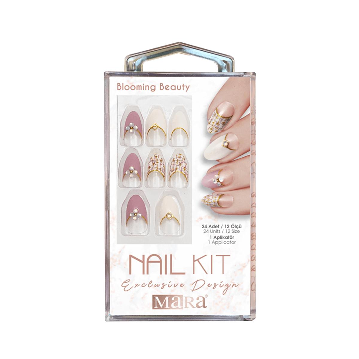 Nail Kit Takma Tırnak Blooming Beauty