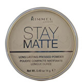 Resim Stay Matte Pressed Pudra No. 001