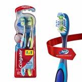 360 Diş Arası Temizliği Diş Fırçası Orta 1+1, Dil ve Yanak Temizleyici
