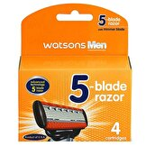 Mens 5 Blade Razor Cartridge 4S