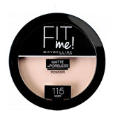 Fit Me Matte+Poreless Pudra 115 Ivory
