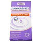 Cold Wax Strips 40S