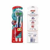 360 Komple Ağız Temizliği Diş Fırçası Yumuşak 1+1