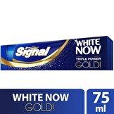 Anında Beyazlık Gold Diş Macunu 75 ml